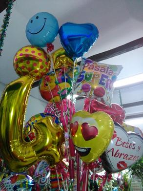 globos metalizados